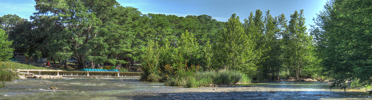 Frio River looking toward Garner Park